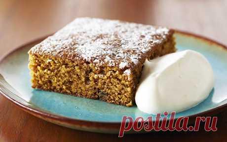 Классический имбирный торт Food Network Россия