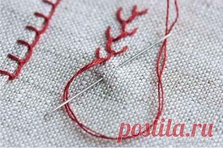 Виды швов для вышивки — Сделай сам, идеи для творчества - DIY Ideas