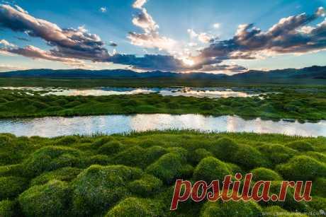 Los paisajes de la Mongolia