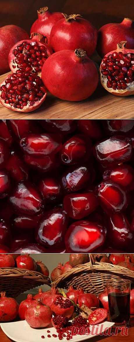 Гранат - сила взрывного фрукта