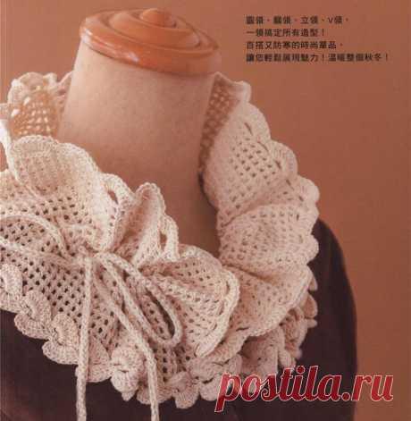 Элегантный ретро-крючком клетчатый шнурок-декольте-женская галерея-вязаная жизнь