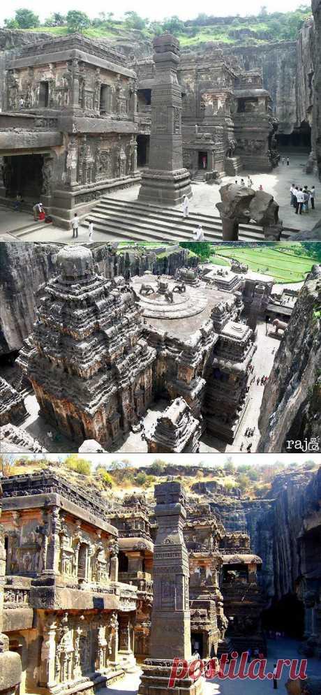 Эллора - пещерные храмы Индии. | Искусство