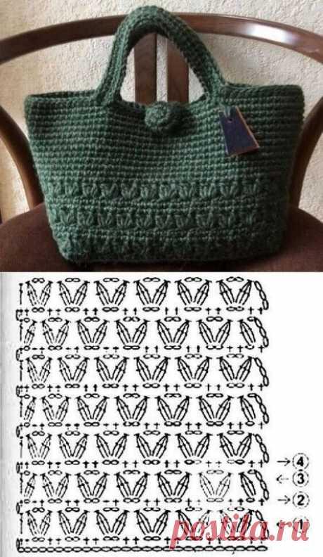 Вязаные сумки крючком. » Сделай Сама. Шитье. Вязание. Рукоделие