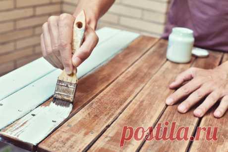 Покраска старой мебели: подготовительные работы