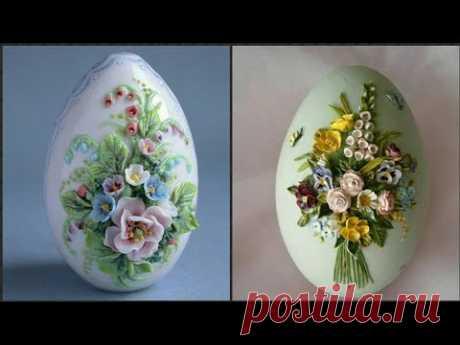 Easter Decorated Egg Flower Arrangement Ideas