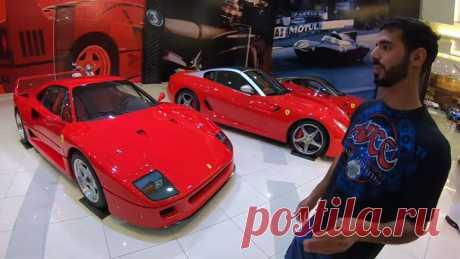 У Шейха из Эмиратов неимоверная коллекция редких автомобилей