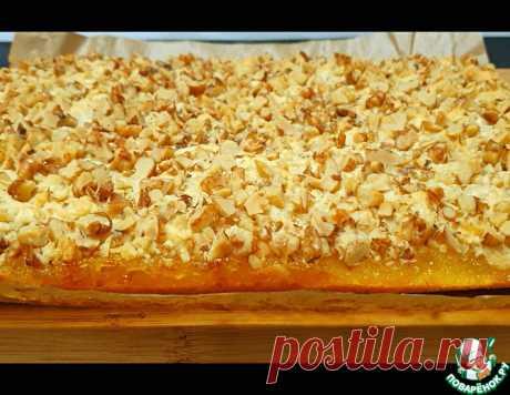Пирог с яблочно-лимонной начинкой – кулинарный рецепт