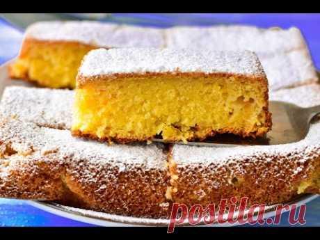 Заливной пирог с яблоками - запись пользователя vkusya (Юлия) в сообществе Болталка в категории Кулинария
