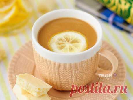 Кофе с лимоном - рецепт с фото.
