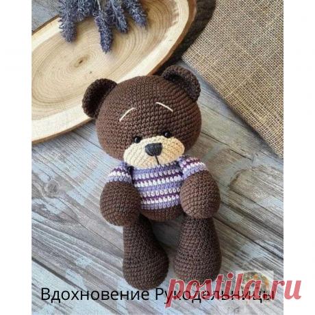 Милые мишки крючком! Хотите попробовать? | ВДОХНОВЕНИЕ РУКОДЕЛЬНИЦЫ | Яндекс Дзен