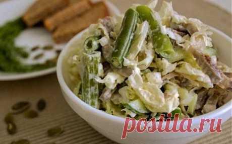 Салаты с куриными желудками: 6 рецептов / Простые рецепты