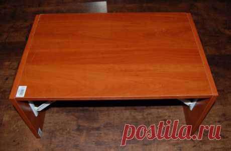 Накроватный столик своими руками за 15 минут