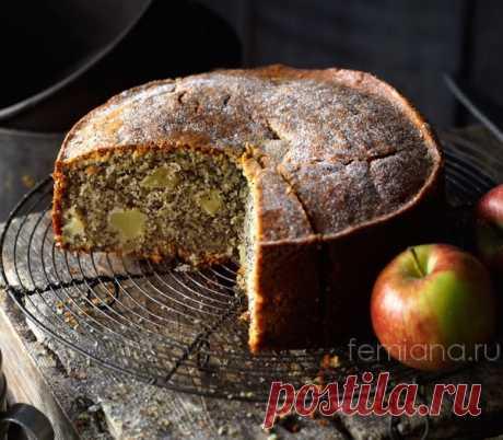 Маковый пирог с яблоками | FEMIANA