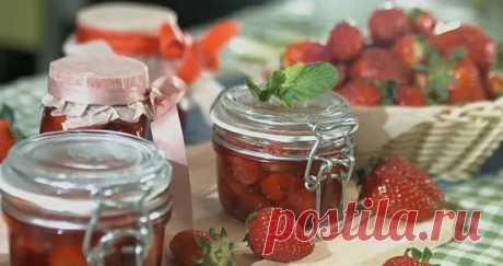 Клубничный конфитюр с мятой пошаговый рецепт с фото на сайте академии выпечки Dr.Oetker