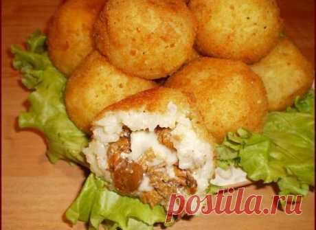 Аранчини — рисовые шарики с начинкой | Pentad