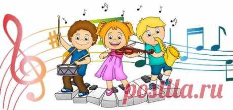 Веселые песенки для малышей