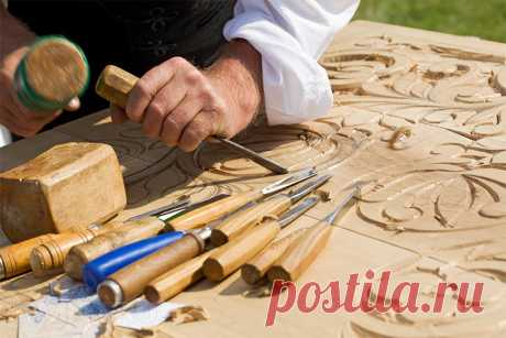 Woodcarving by the hands: what to begin RMNT.RU with
