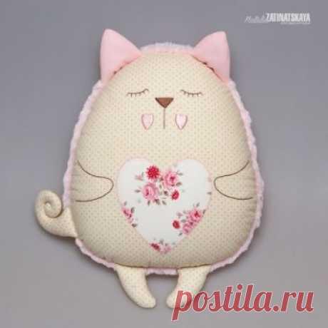 Забавные игрушки-подушки :) Идеи для вдохновения  Автор: Наталья Затинацкая