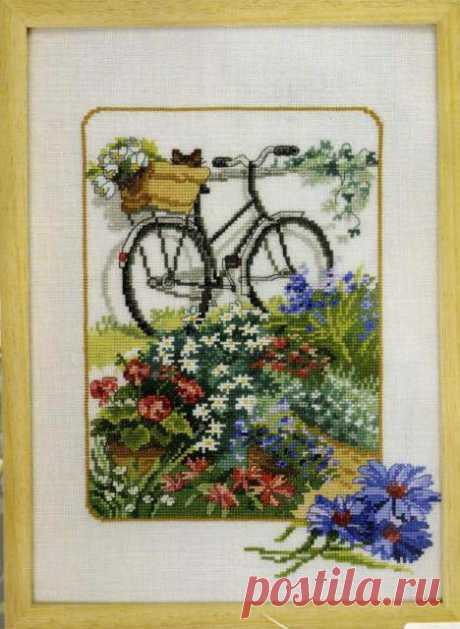 вышивка крестиком с велосипедами - Поиск в Google