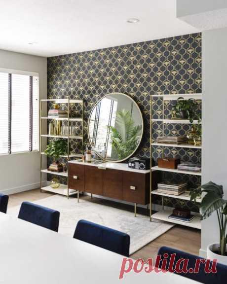 Эффектное, но функциональное пространство в апартаментах для молодой семьи — Lodgers - Дизайн интерьера