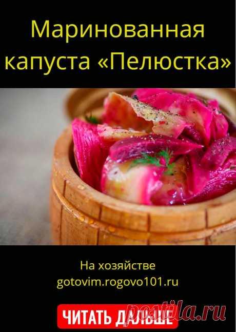 Маринованная капуста «Пелюстка»