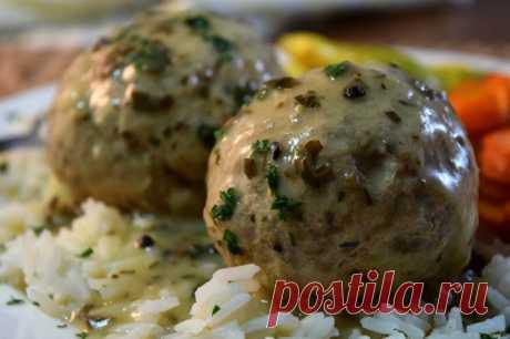 Фрикадельки без мяса в соусе - Со Вкусом