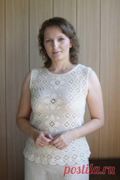 Фото - Филейное вязание. кофточки