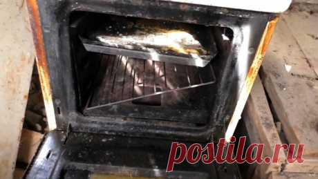 Как сделать очень легкий туристический мангал из решетки от духовки