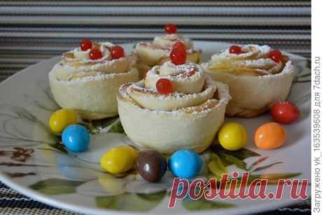 Готовьте розочки - печенье, чтоб ели все мы с наслаждением - пошаговый рецепт приготовления с фото