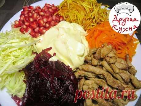 Салат французский- любимый салат с детства - Простые рецепты Овкусе.ру