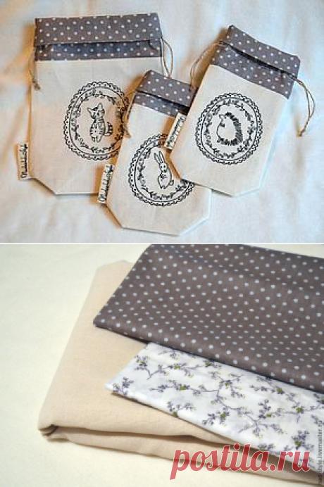 Мастер-класс: шьем текстильные мешочки для трав - Ярмарка Мастеров - ручная работа, handmade