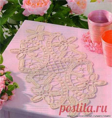 Румынское кружево.Техника вязания.