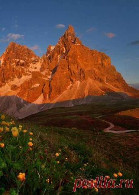 Enantiodromija | Red sunset in the Dolomites by danielrericha.cz
