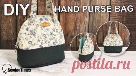 ....сумка с ручками....  пошив и выкройка  приятного пошива