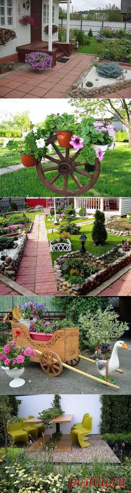 Интересные идеи для дачи и сада.