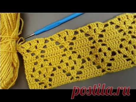 Вязаный узор ручной работы для вязаных жилеток и одеял