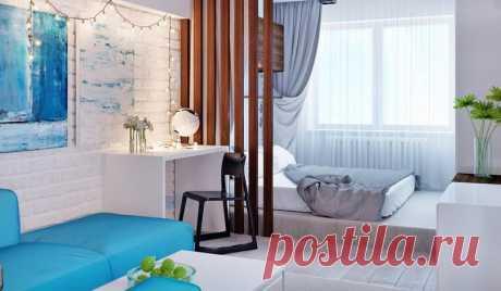 Квартира-студия 30 кв.м. - Дизайн интерьеров | Идеи вашего дома | Lodgers