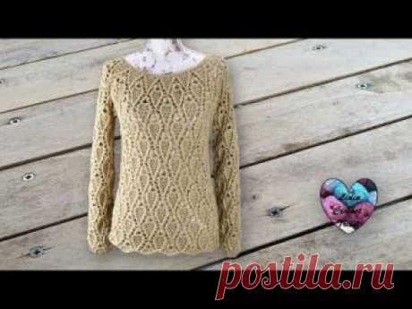 El pulóver por el gancho