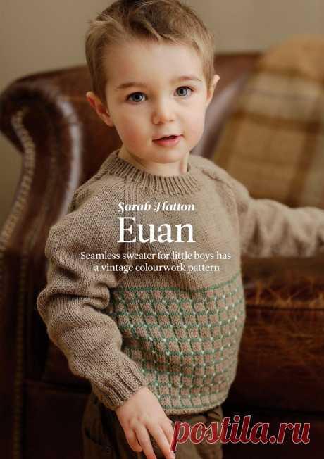 Пуловер Euan, The Knitter 69