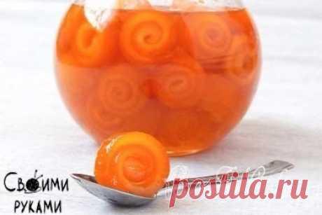 Варенье из апельсиновых корок. Идея.
