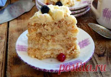 Летний торт: готовим без духовки   Люблю Себя