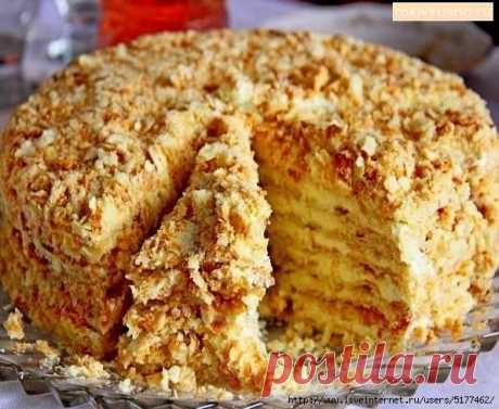 Очень вкусный торт «Светлана» без выпечки.    Ингредиенты: для коржей: 3 стакана муки1 банка сгущенки1 яйцо1 ч.л. соды1 ч.л. уксуса (погасить соду уксусом) Для крема: 750 гр молока200 гр сливочного масла1,5 стакана сахарного песка2 яйца3 ст.л.…