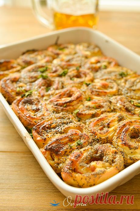 Сырные улитки - Foodclub — кулинарные рецепты с пошаговыми фотографиями