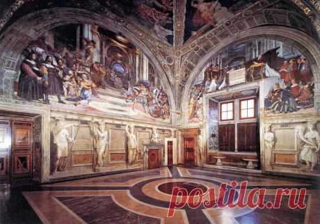 Stantsa Raphael: The papal residence in Vatican