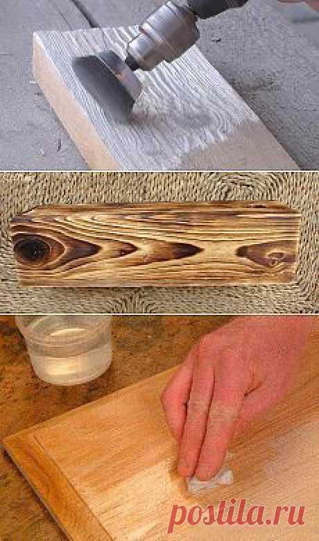 Браширование древесины своими руками: видео мастер-класс на примере доски и… | декупаж (видео) | Woodworking, Woods and Wood working