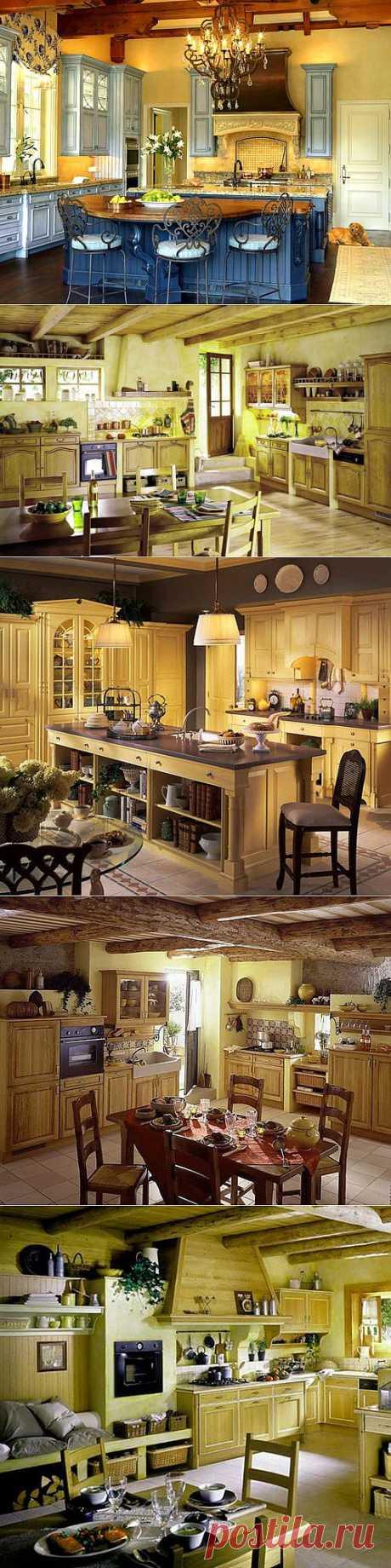 Кухни в стиле прованс. | Наш уютный дом