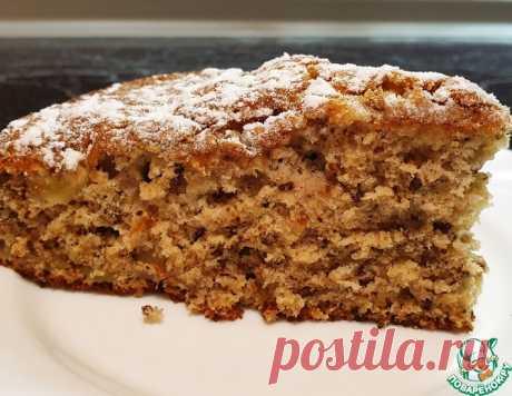 Вкусный яблочный пирог с грецкими орехами – кулинарный рецепт