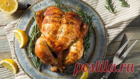 Курица в духовке: три рецепта ▷ с шароном, грибами, яблоками