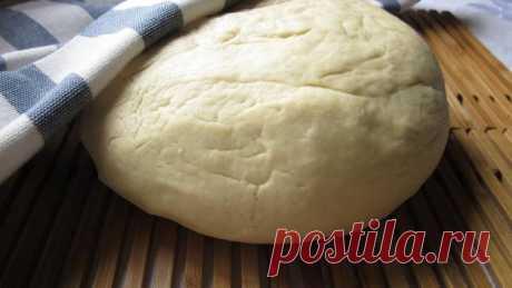 Как приготовить нестареющее хрущевское тесто?   Еда и кулинария