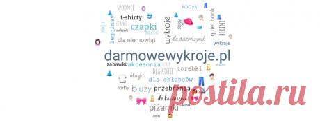 DarmoweWykroje.pl Strona z darmowymi wykrojami do pobrania. Dzięki niej dowiesz się, jak uszyć wymarzoną rzecz.